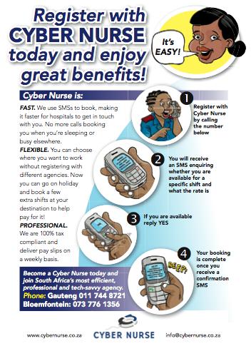 The new Cyber Nurse flyer
