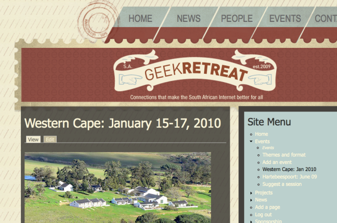 geekretreat website